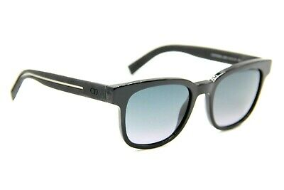 8b2946066a2f New Dior Homme Blacktie 183S Luhhd Black Authentic Sunglasses Blacktie183S  52-20