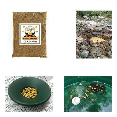 Nugget Reserve Clunker Panning Pay Dirt Bag  Gold Prospecting Concentrate