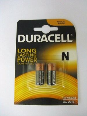Duracell MN9100 High Power N Security Alkaline 1.5V Batteries - Pack of 2