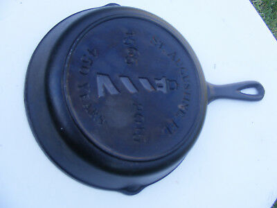 """5"""" LODGE CAST IRON PAN SKILLET St. Augustine's lighthouse 450th anniversary"""