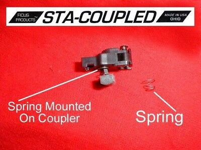 """Ficus Products tm custom  """"STA coupled"""" coupler assist spring"""