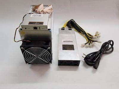 Antminer X3 CryptoNight 220 KHs ASIC Miner with PSU in Hand