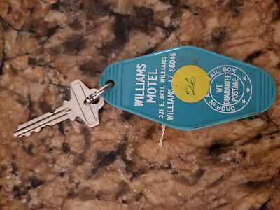 Williams AZ Route 66 Hotel Key 321 E Bill Williams St Now Wild West Junction