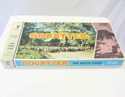 Vintage Squatter The Australian Wool Game 1960 By John Sands#15126