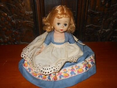 Vintage 1960's Madame Alexander Doll With Vogue Clothing