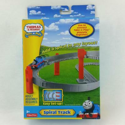 Spielset Fisher-Price Take N Play Thomas Spiral Track Y3277 18x7x28 cm  3+ Years