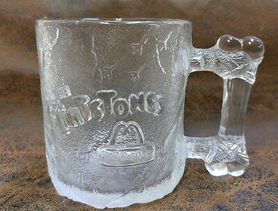 McDonald's Flintstones Pre-Dawn Glass Mug 1993 USA 160352
