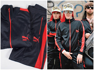 popular style new release authentic quality VTG 80S PUMA Tracksuit Beastie Boys Red Black Track Jacket ...