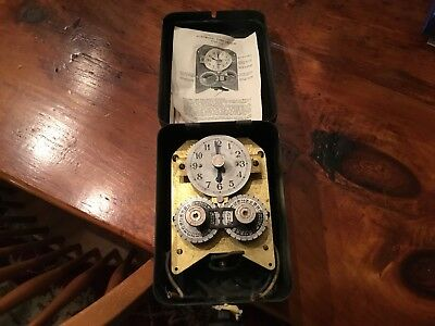Vintage 1931 Automatic Time Switch GE General Electric Antique