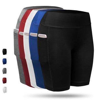 USA Women Compression Shorts Sports Gym Fitness Running Exercise Pants Trousers