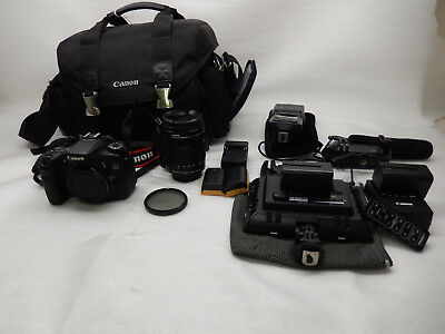 Canon EOS 70D Digital Camera (Kit w/  18-135mm Lens and Lots of Extras) #168