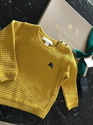baby burberry Jumper Size 12 Months
