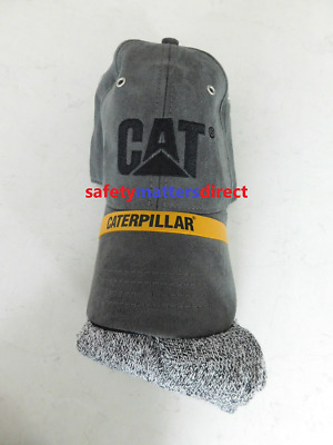 CAT Caterpillar Grey Suede Cap & Sock Pack Bundle 5pk Socks FATHERS DAY GIFT