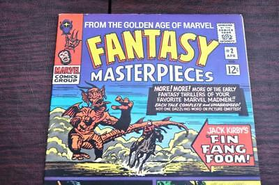 ** Fantasy Masterpieces 2 (NM 9.2) 1st FIN FANG FOOM! Original OWNER Coll! *