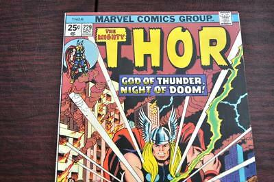 ** The Mighty THOR 229 (NM 9.4) Classic cover Original OWNER Collection! *