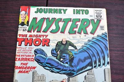 ** Journey Into MYSTERY 101 (VF- 7.5) THOR 12c Original OWNER Collection! *