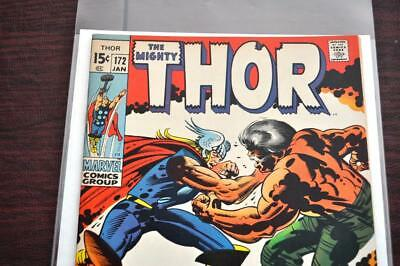 ** The Mighty THOR 172 (NM 9.4) Jack KIRBY Stan LEE Original OWNER Collection! *
