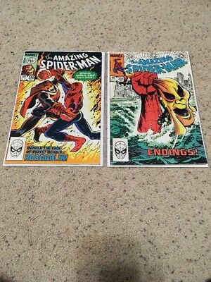 Amazing Spider-Man (1st Series) #250, And 251! Hobgoblin Story