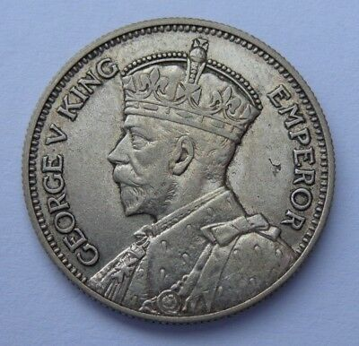 1935 Newzealand Shilling Km# 3 Xf+ No Reserve! Super Nice! Must See!