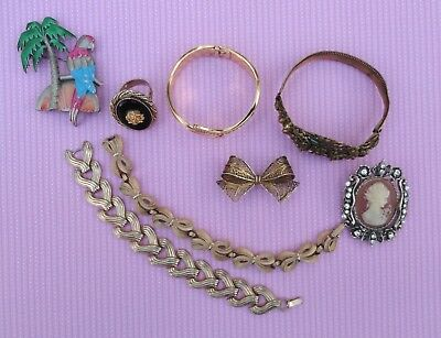 Costume Jewelry Lot ALL Good Wearable Resell Old Estate Vintage Sold AS IS