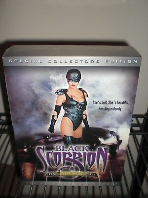 Black Scorpion - The Complete Television Series (DVD, 2003, 6-Disc Set) NEW