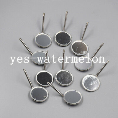 50 Pc Dental Orthodontic Exam Stainless Steel Mouth Mirrors #4 Plain Size Mirror