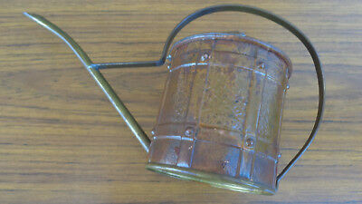 Very Old, Small Vintage, Brass, Watering Can.  Made In England.  Collectbile
