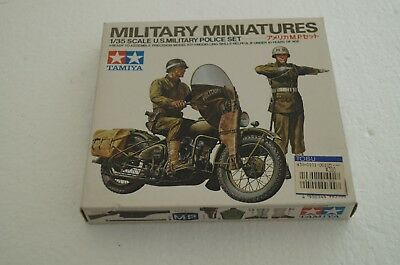 35084 Tamiya 1/35 Scale U.S Military Police Set Miniature Model Kit
