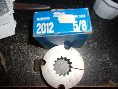 Nos Martin 2012 X 5/8 Splined Bore Bushing Made In The Usa  Free Shipping!