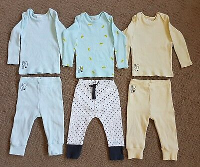 Bonds Unisex Baby Tops/Leggings/Outfits - Size 0