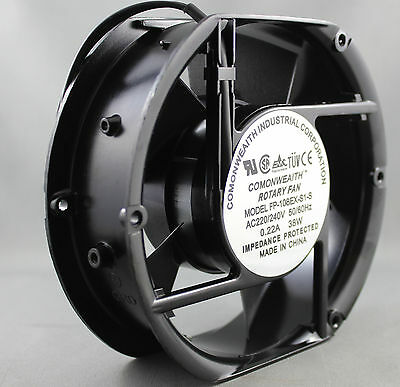 COMMONWEALTH 150mm x 170mm x 50mm 240Volt AC Computer Cooling Fan FP-108EX-S1-S