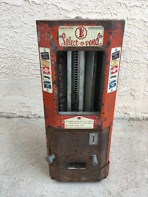 Antique 1940's  Select O Magic Hershey's Candy Machine Restore Or For Parts