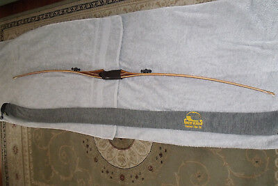 """longbow great plains cazador 64"""" 60lb as new made in texas u.s.a"""