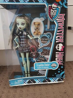RARE Monster High Doll First Wave Frankie Stein Original Doll New Collectors