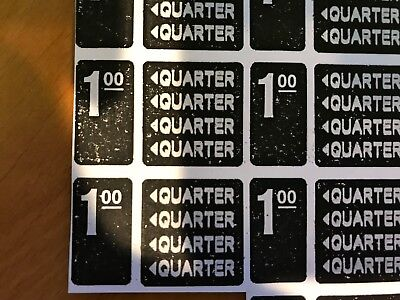 Antares Vending labels stickers Edina Combo Price Drinks Soda Time Label Lables