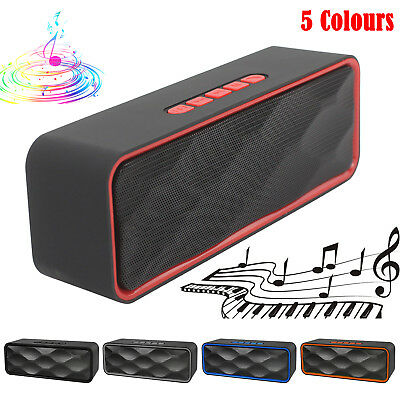 Wireless Bluetooth Speaker High Bass Portable Outdoor Stereo Loudspeaker