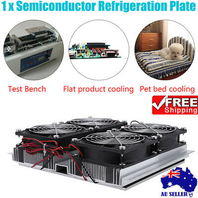 Semiconductor Refrigeration Pieces Kit Thermoelectric Peltier Air/Water Cooling