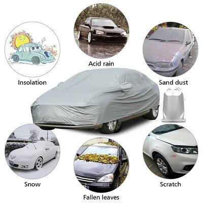 Waterproof Heavy Duty XL Full Car Cover Breathable UV Protect Indoor Outdoor UK