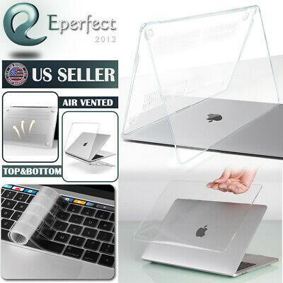 "MacBook Pro 13"" 15"" Touch Bar Case Clear Shell Keyboard Cover A1708 A1706 A1707"