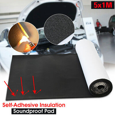 "54sqft 197""x39"" Sound Deadener Car Heat Shield Insulation Deadening Material Mat"