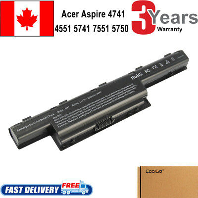 Battery for Acer Aspire 4741 7551 5750 5741 5551 5552 5742Z 4551 AS10D51 CA