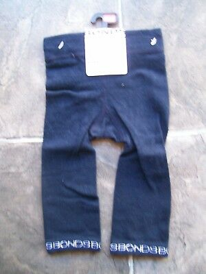 BNWT Baby Boy's Bonds Navy Footless Tights/Leggings Size 0 6-12 Months