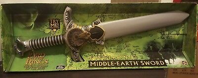 The Lord Of The Rings Electronic Middle Earth Sword