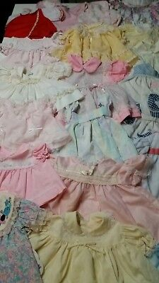 Lot Of 22 Pieces Baby Girl Clothing Size 3 -9 Months