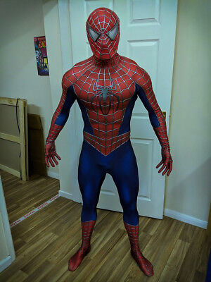 Spider-Man 3 Movie Replica Cosplay Costume Suit (Premium Grade)