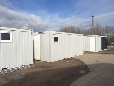 20ft x 8ft Portable / flatpack office units