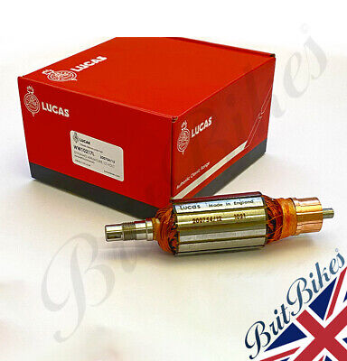 DYNAMO ARMATURE 12v 60W all mag/dyno - 179mm parallel shaft - 200754 UK MADE