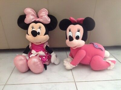 Disney Crawling Minnie Mouse And Disney Talking Minnie Mouse