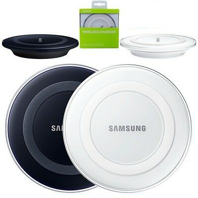 Qi Wireless Charging Pad Charger for Samsung Galaxy S8+ S8 S7 S6 S6 Edge Note 5