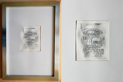 ERICH KELLER Incisione 1969 8/15 signed, drypoint etching, art, arte, rare